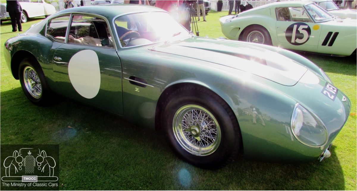 1961 Aston Martin Db4 Gt Zagato 2 Vev The Ministry Of Classic Cars